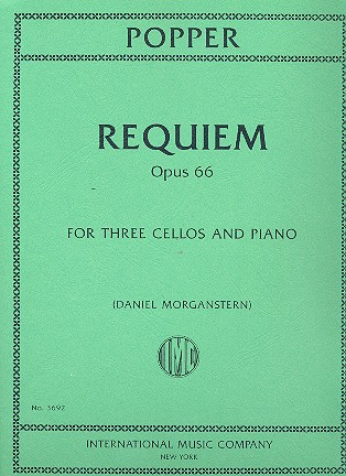 Popper, David - Requiem op.66 for 3 Cellos and Orchestra :