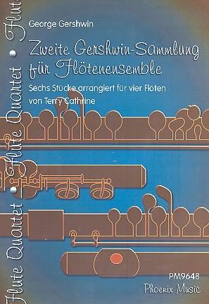 2. Gershwin-Sammlung: für 4 Flöten (Ensemble)