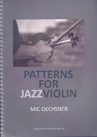 Patterns for Jazz Violin (+CD): für Violine (dt/en)
