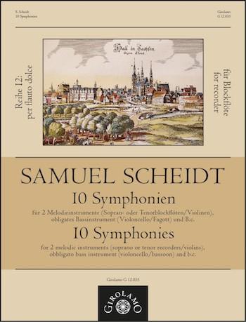 10 Symphonien: für 2 Melodieinstrumente, Bassinstrument und Bc