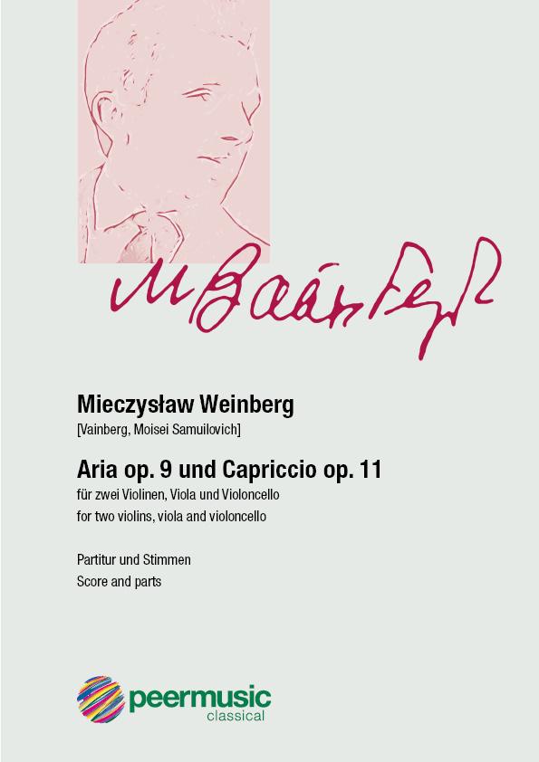 Weinberg, Mieczyslaw - Aria op.9  -  Capriccio op.11: