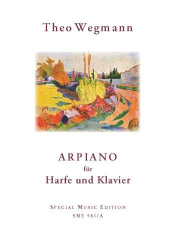 Arpiano: für Harfe und Klavier