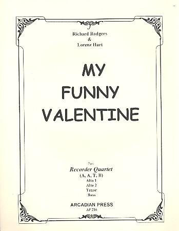 Rodgers, Richard - My funny Valentine :