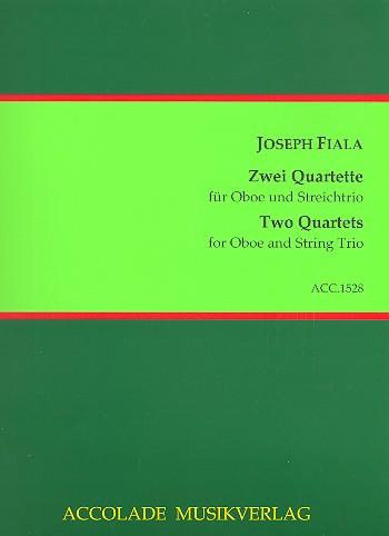 Fiala, Josef - 2 Quartette :