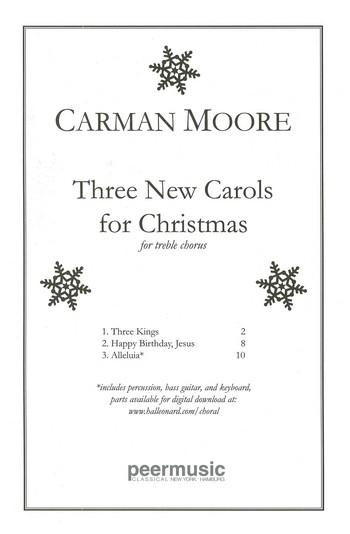 3 new Carols for Christmas: for treble chorus a cappella