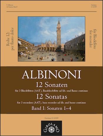 12 Sonaten Band 1 (Nr.1-4): für 3-4 Blockflöten (AATB) und Bc
