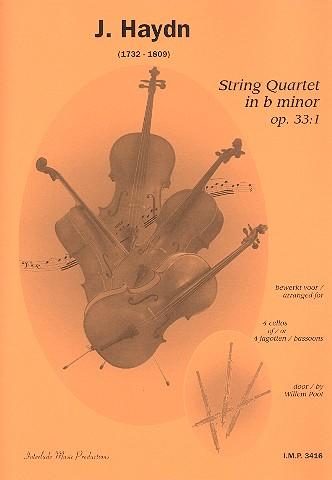 Haydn, Franz Joseph - Streichquartett h-Moll op.33,1 :