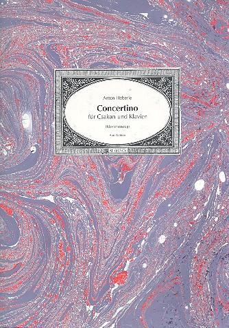Concertino für Csakan und Orchester: für Csakan und Klavier