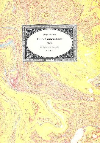 Duo concertant: für Csakan und Klavier