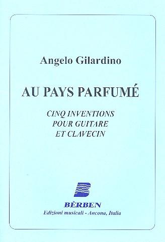 Au pays parfumé: for guitar and harpsichord