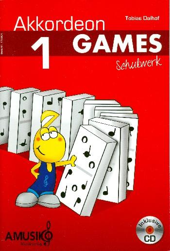Akkordeon Games Band 1 (+CD): für Akkordeon