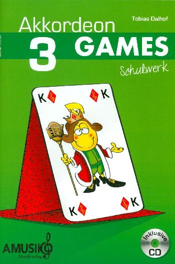 Akkordeon Games Band 3 (+CD): für Akkordeon