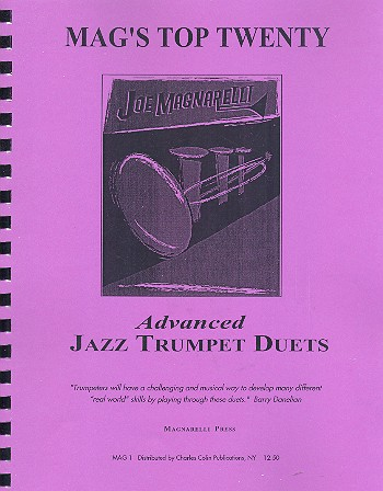 Advanced Jazz Trumpet Duets: for 2 trumpets