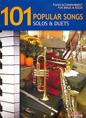 101 popular Songs: piano accompaniment