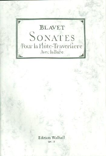 Sonates melées de pieces opus.2 et opus.3: pour la flute traversiere avec la basse