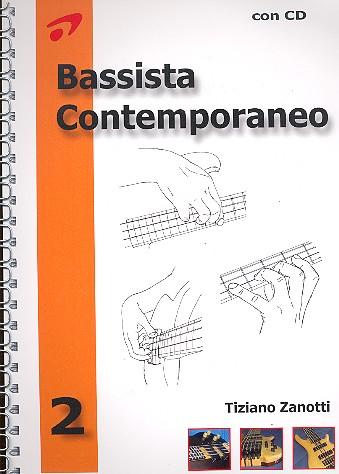 Bassista contemporaneo vol.2 (+CD): per basso elettrico
