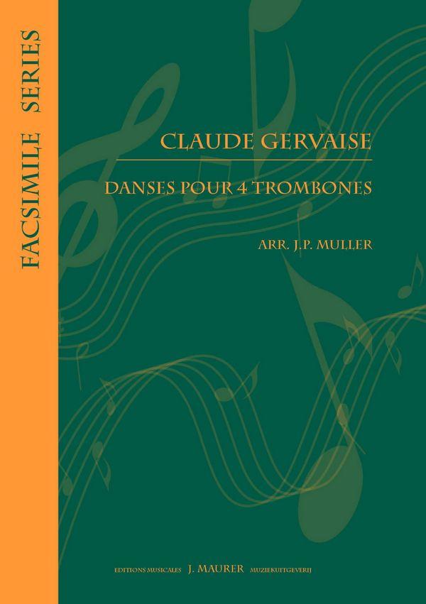 Dances: for 4 trombones