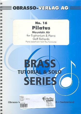 Pilatus: for euphonium and piano