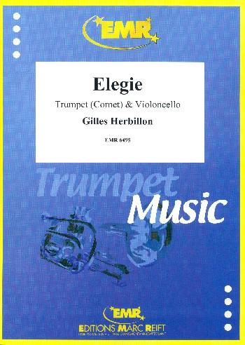 Elegie: for trumpet (cornet) and violoncello