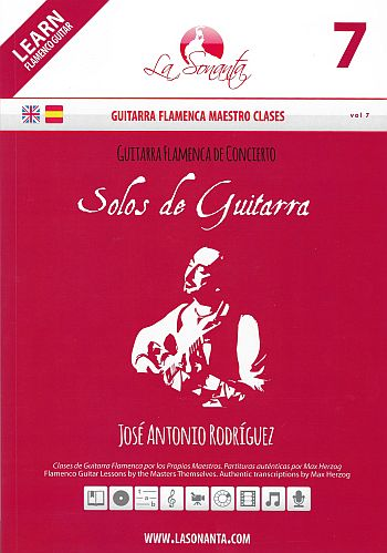 Guitarra Flamenca de Concierto - Solos de Guitarra (+DVD) for guitar/tab (sp/en)
