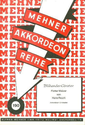 Blühender Ginster: für Akkordeonorchester