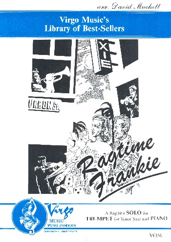 Ragtime Frankie: for trumpet (tenor saxophone) and piano