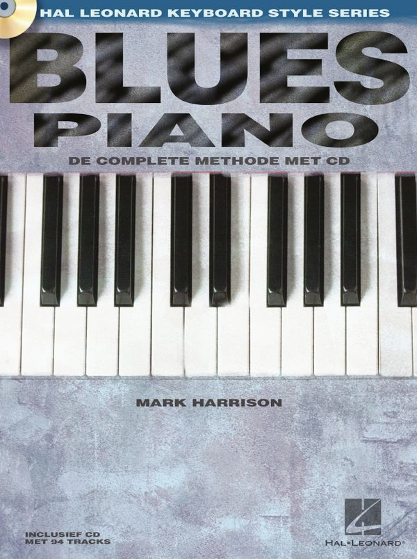 Blues Piano (+CD): voor piano (nl)