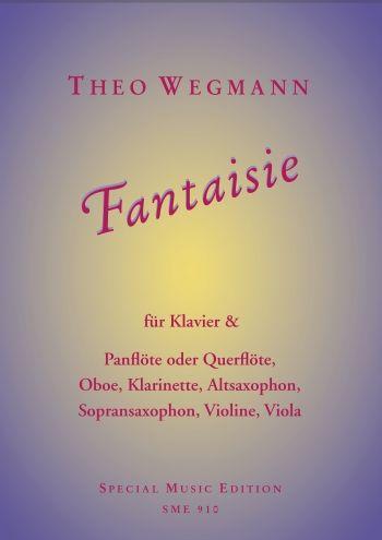 Fantaisie: für Panflöte (Flöte/Oboe/Klarinette/Saxophon/Violine) und Klavier