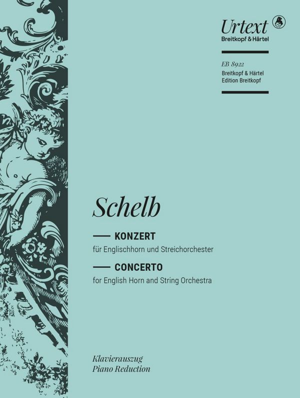 Konzert für Englischhorn und Streichorchester: für Oboe und Klavier