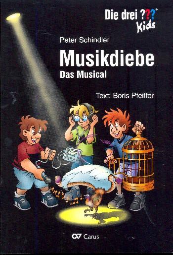 Schindler, Peter - Die drei ??? Kids - Musikdiebe :