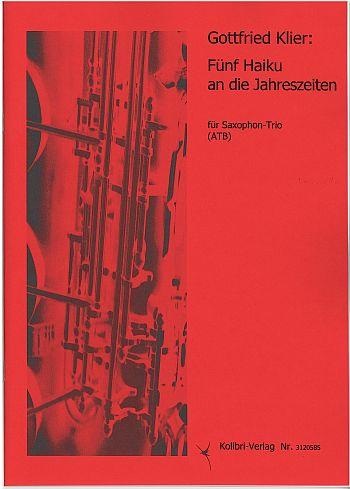 KOL3120585 5 Haiku: für 3 Saxophone
