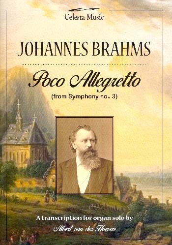 Poco Allegretto (3. Satz) aus Sinfonie Nr.3: für Orgel
