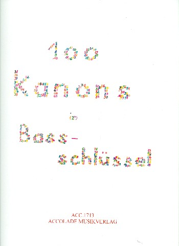 100 Kanons im Bassschlüssel: für 2-6 Instrumente