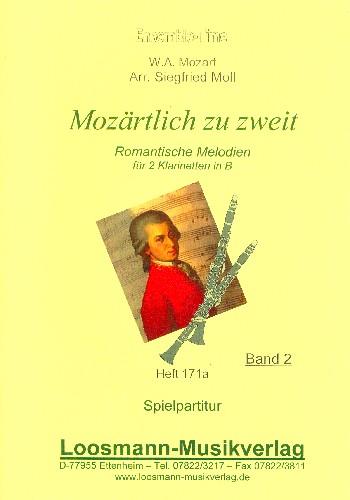 Mozart, Wolfgang Amadeus - Mozärtlich zu zweit Band 2 :