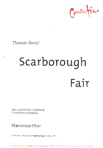 Scarborough Fair : - Vollanzeige.