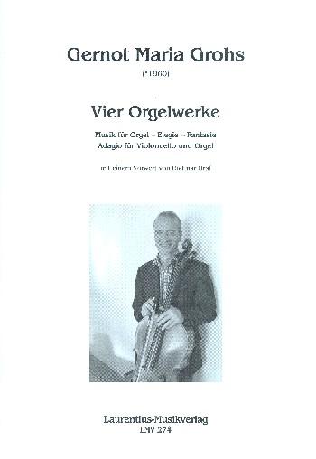 Grohs, Gernot Maria - 4 Werke :