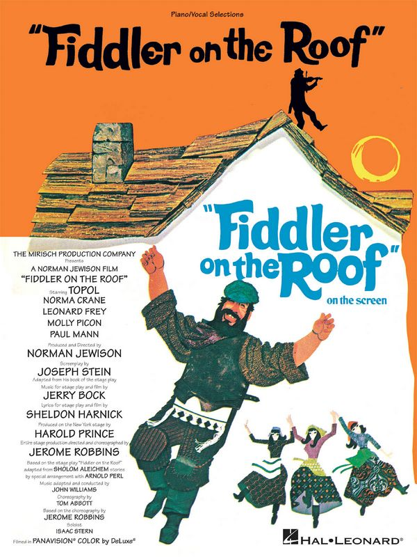 Fiddler on the Roof: Vocal Selections songbook piano/vocal/guitar
