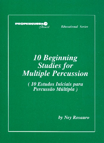 063-118 10 beginning Studies: for multiple percussion