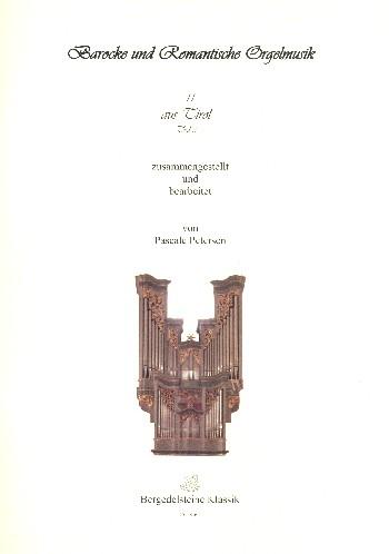 Anonymus - Barocke und romantische Orgelmusik aus Tirol Band 3 :
