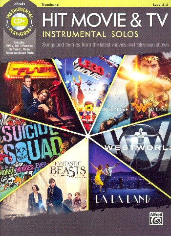 Hit Movie & TV Instrumental Solos (+MP3-CD): for trombone