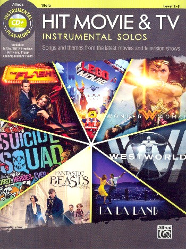 ALF46777 Hit Movie & TV Instrumental Solos (+MP3-CD): for viola