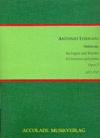 Notturno opus.3: für Fagott und Klavier