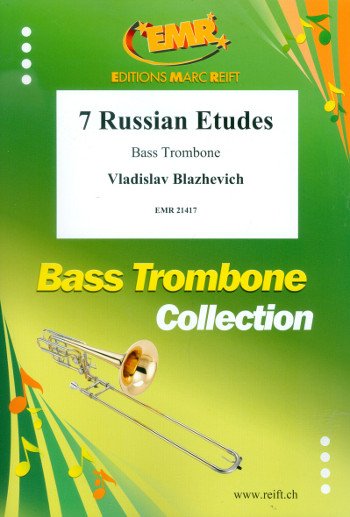 7 Russian Etudes: for trombone and piano
