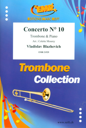 Concerto no.10: for trombone and piano