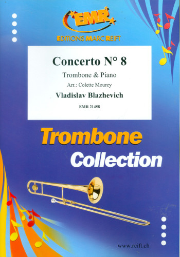 Concerto no.8: for trombone and piano