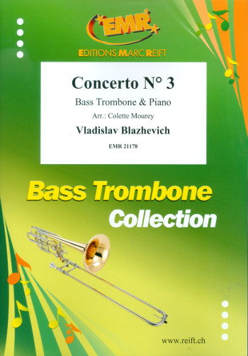 Concerto no.3: for bass trombone and piano