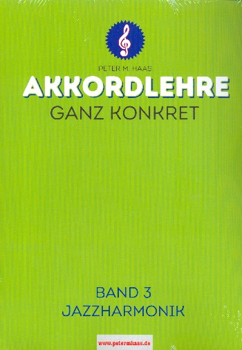 Akkordlehre ganz konkret Band 3 (+Online Audio) - Vollanzeige.