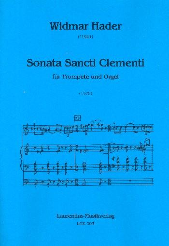 Sonata Sancti Clementi: für Trompete und Orgel