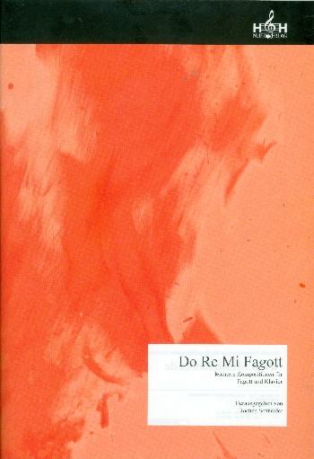 Do Re Mi Fagott: für Fagott und Klavier