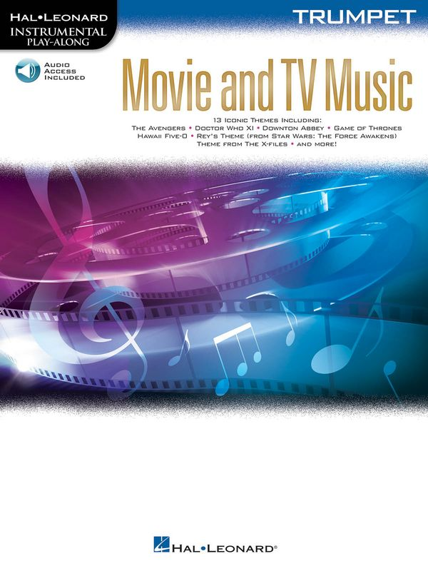 Movie and TV Music (+audio online): for trumpet